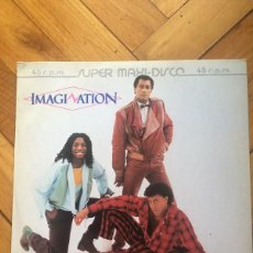 Discos de vinilo: IMAGINATION ‎– LOOKING AT MIDNIGHT 12´´ MAXI SINGLE.. Lote 167662984