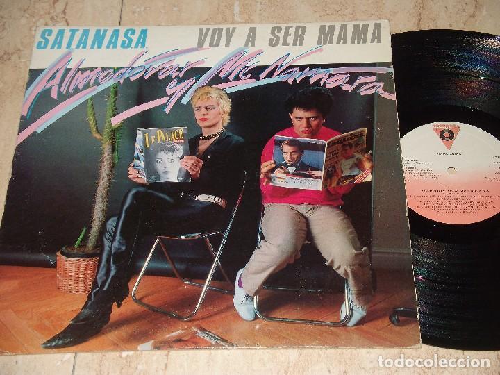 ALMODOVAR & MCNAMARA / SATANASA / VOY A SER MAMA / 12* MAXI - RARO!!! PROMOCIONAL 1983 (Música - Discos - LP Vinilo - Grupos Españoles de los 70 y 80)