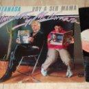 Discos de vinilo: ALMODOVAR & MCNAMARA / SATANASA / VOY A SER MAMA / 12* MAXI - RARO!!! PROMOCIONAL 1983 . Lote 167666388