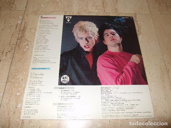 Discos de vinilo: ALMODOVAR & McNAMARA / Satanasa / Voy a ser mama / 12* MAXI - RARO!!! PROMOCIONAL 1983 - Foto 2 - 167666388