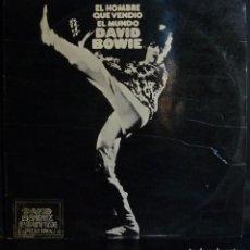 Discos de vinil: DAVID BOWIE // EL HOMBRE QUE VENDIO EL MUNDO // 1973 (VG VG) ENCARTE. NO POSTER. LP. Lote 167669640