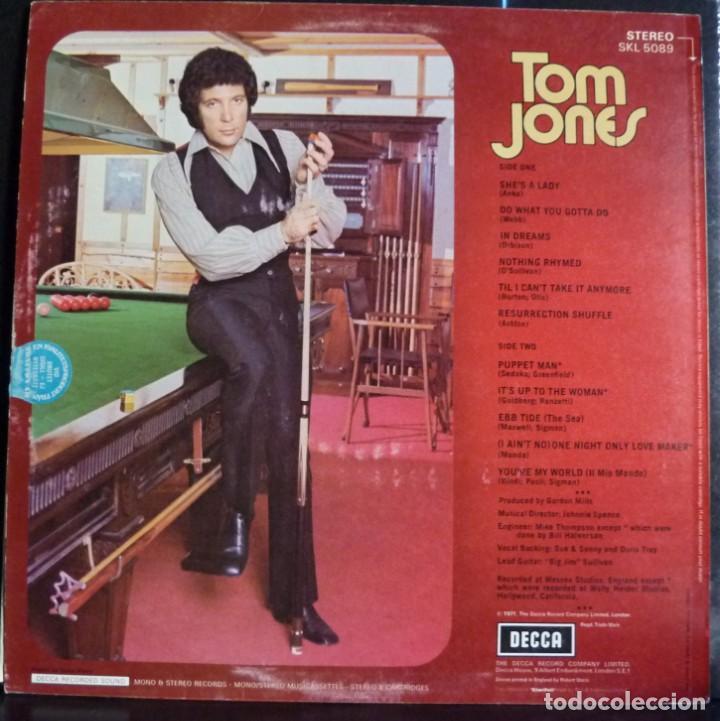 Discos de vinilo: TOM JONES // SINGS SHE`S LADY // 1971 // MADE IN ENGLAND // (VG+VG+).LP - Foto 2 - 167670880