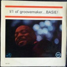 Discos de vinilo: COUNT BASIE // LIL OL GROOVE MAKER...BASIE // 1968 // (VG VG). LP. Lote 167671432
