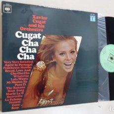 Discos de vinilo: XAVIER CUGAT ORCHESTRA-CHA CHA CHA - SERIE CLUB- CBS- BCN AÑO 1967. Lote 167677440