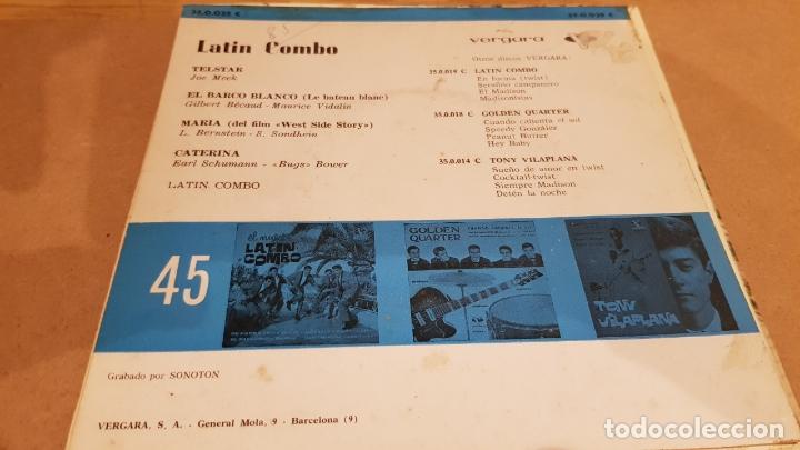 Discos de vinilo: LATIN COMBO / TELSTAR / EP - VERGARA-1962 / PEQUEÑA RAYA. ***/** - Foto 2 - 167677784