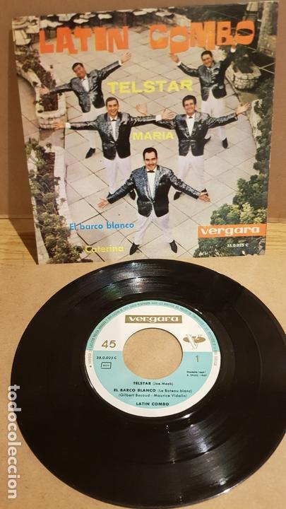 LATIN COMBO / TELSTAR / EP - VERGARA-1962 / PEQUEÑA RAYA. ***/** (Música - Discos de Vinilo - EPs - Grupos y Solistas de latinoamérica)