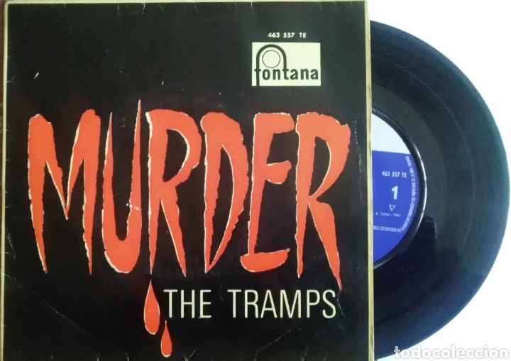 THE TRAMPS (Música - Discos de Vinilo - Maxi Singles - Pop - Rock Extranjero de los 50 y 60)