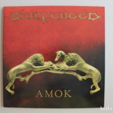 Discos de vinilo: LP AMOK, SENTENCED. Lote 167685644