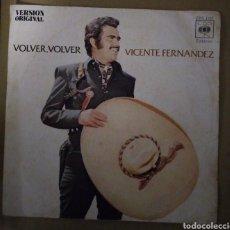 Discos de vinilo: VICENTE FERNÁNDEZ - VOLVER, VOLVER. Lote 167686434
