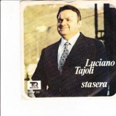 Discos de vinilo: LUCIANO TAJOLI SOLE , PIOGGIA E VENTO SANREMO 1970 SEVEN RECORD . Lote 167693132