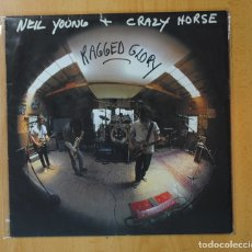 Discos de vinilo: NEIL YOUNG & CRAZY HORSE - RAGGED GLORY - LP. Lote 167698052