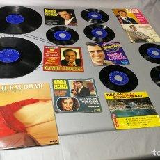 Discos de vinilo: LOTE DE 17 DISCOS DE VÍNILOS DE MANOLO ESCOBAR, SINGLES Y LPS, BARATIOS A 5E LA UNIDAD. Lote 167706384
