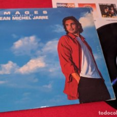Discos de vinil: JEAN-MICHEL JARRE IMAGES THE BEST OF JEAN-MICHEL JARRE LP 1991 POLYDOR SPAIN ESPAÑA. Lote 213948543