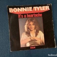 Dischi in vinile: BONNIE TYLER ?– IT'S A HEARTACHE LABEL: RCA ?– PB 5057, RCA VICTOR ?– PB 5057 FORMAT: VINYL, 7 . Lote 167715928