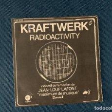 Discos de vinilo: KRAFTWERK ?– RADIOACTIVITY LABEL: CAPITOL RECORDS ?– 2C010- 82119, CAPITOL RECORDS ?– 2C 010 - 82.1. Lote 167716468