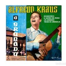Discos de vinilo: ALFREDO KRAUS – A GRANADA. Lote 167717080