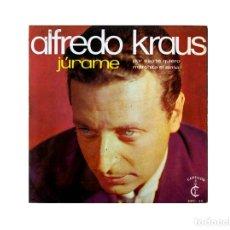 Discos de vinilo: ALFREDO KRAUS – JÚRAME. Lote 167717156