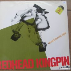 Discos de vinilo: REDHEAD KINGPIN AND THE FBI – WE ROCK THE MIC RIGHT - 10 RECORDS 1990 - MAXI - PLS 688. Lote 167717324