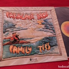 Discos de vinilo: FARAGHER BROTHERS FAMILY TIES LP 1977 ABC RECORS SPAIN ESPAÑA. Lote 167720884