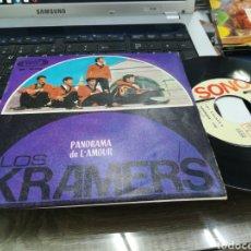 Discos de vinilo: LOS KRAMER'S SINGLE PANORAMA 1966. Lote 167722274