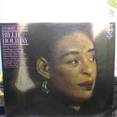 Discos de vinilo: DOBLE LP BILLIE HOLIDAY : STORMY BLUES . Lote 167724816