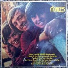 Discos de vinilo: THE MONKEES. MEET THE MONKEES. RCA-VICTOR, UK 1967 LP ORIGINAL MONO (RD-7844). Lote 167725768