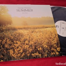 Discos de vinilo: GEORGE WINSTON SUMMER LP 1991 WINDHAM HILL RECORDS USA. Lote 167725956