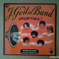 Discos de vinilo: THE J. GEILS BAND -SHOWTIME- LP EMI 1982 ED. ALEMANA 1C 064-400 144 MUY BUENAS CONDICIONES. . Lote 167728404