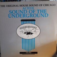 Discos de vinilo: VARIOUS-ACID LL SOUND OF THE UNDERGROUND. Lote 167730441