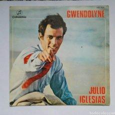 Discos de vinilo: JULIO IGLESIAS GWENDOLYNE. Lote 167754557