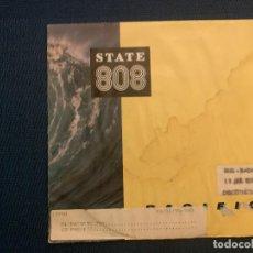 Discos de vinilo: STATE 808* ?– PACIFIC SELLO: ZTT ?– ZANG 1, ZTT ?– 2292-46522-7 FORMATO: VINYL, 7 . Lote 167755736
