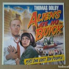 Discos de vinilo: THOMAS DOLBY -ALIENS ATE MY BUICK- LP EMI 1988 1C 064 7 48075 1 ED. HOLANDESA MUY BUENAS CONDICIONES. Lote 167756188