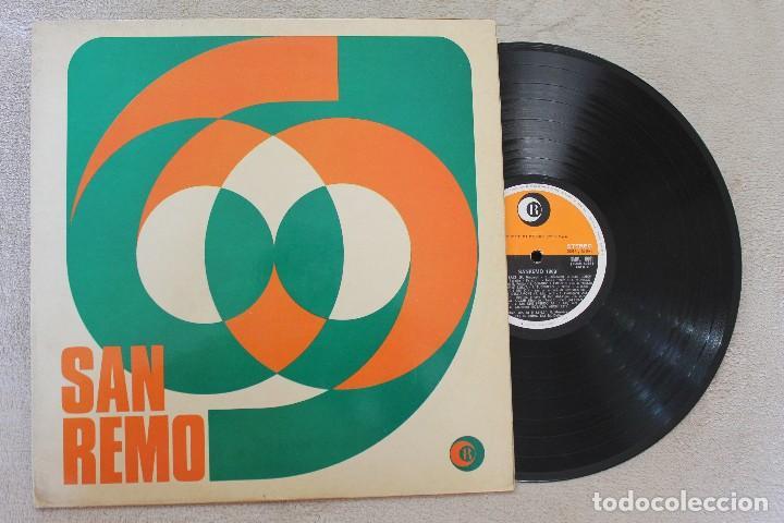 SAN REMO 69 LP VINYL MADE IN ITALY 1969 (Música - Discos - LP Vinilo - Otros Festivales de la Canción)