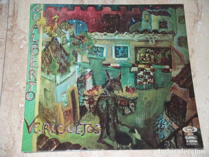 GUALBERTO LP VERICUETOS 1976 MOVIEPLAY GONG -1 PRESSING-GATEFOLD COVER- PROG PSYCH POKORA (Música - Discos - LP Vinilo - Grupos Españoles de los 70 y 80)