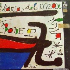 Discos de vinilo: MARIA DEL MAR BONET - MIRÓ LP DOBLE PORTADA + INSRT 1974. Lote 167791296