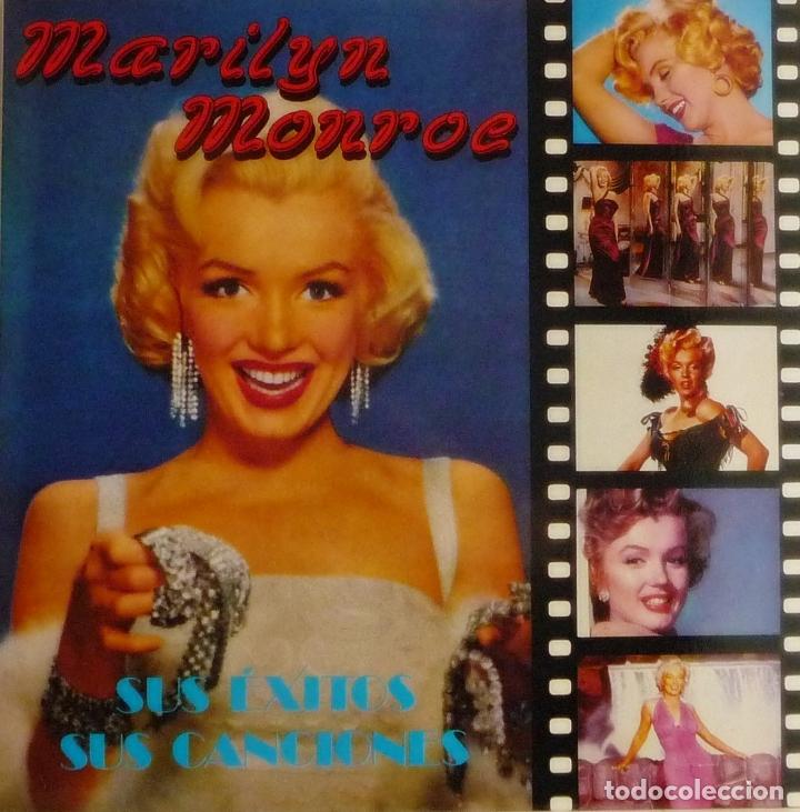 Resultado de imagen de marilyn monroe imagen de uno de sus discos