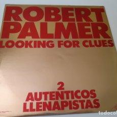 Discos de vinilo: ROBERT PALMER- LOOKING FOR CLUES- SPAIN PROMO MAXI SINGLE 1980- VINILO COMO NUEVO.. Lote 167800252