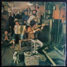 Discos de vinilo: BOB DYLAN // THE BASEMENT TAPES // 1975 // DISCO Y PORTADA DOBLE // (VG VG). LP. Lote 167800284