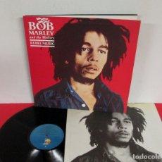 Discos de vinil: BOB MARLEY & THE WAILERS - REBEL MUSIC - LP - ISLAND 1986 SPAIN I-207.760 GATEFOLD - EXCELENTE. Lote 167801616