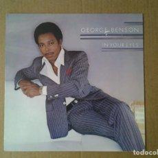 Discos de vinilo: GEORGE BENSON -IN YOUR EYES- LP WB 1983 ED. ALEMANA 92-3744-1 BUENAS CONDICIONES.. Lote 167802816