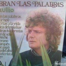 Discos de vinilo: BRAULIO - SOBRAN LAS PALABRAS (BELTER, 1976). Lote 167806928
