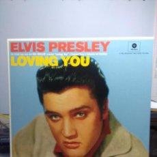 Discos de vinilo: LP ELVIS PRESLEY : LOVING YOU ( EDICION 2015 WAXTIME HIGH FIDELITY CON 2 BONUS TRACKS ). Lote 167811888