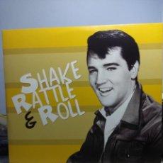 Discos de vinilo: LP ELVIS PRESLEY SHAKE, RATTLE & ROLL ( EDICION 2017 DISQUES DOM ). Lote 167812004