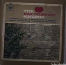 Discos de vinilo: THE RAY CONNIFF SINGERS - CANTANDO BLUES + 3. Lote 167812124