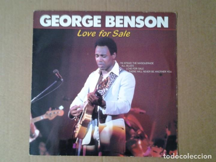 GEORGE BENSON. LOVE FOR SALE - LP CLEO ED. HOLANDESA 1984 CL 001784 MUY BUENAS CONDICIONES. (Música - Discos de Vinilo - EPs - Jazz, Jazz-Rock, Blues y R&B)