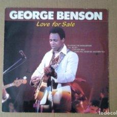 Discos de vinilo: GEORGE BENSON. LOVE FOR SALE - LP CLEO ED. HOLANDESA 1984 CL 001784 MUY BUENAS CONDICIONES.. Lote 167812340