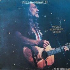 Discos de vinilo: DISCO WILLIE NELSON. Lote 167814280