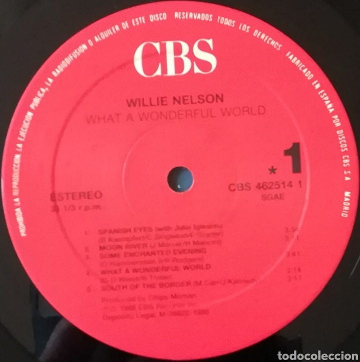 Discos de vinilo: Disco Willie Nelson - Foto 3 - 167814280