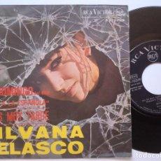 Discos de vinilo: SILVANA VELASCO - UN DOMINGO / NO ES MUY TARDE - SINGLE 1967 - RCA. Lote 167825164