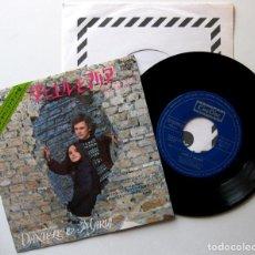Discos de vinilo: NICOLA PIOVANI - MARIA E DANIELE - SINGLE CINEDISC 1972 JAPAN (EDICIÓN JAPONESA) BPY. Lote 167829616
